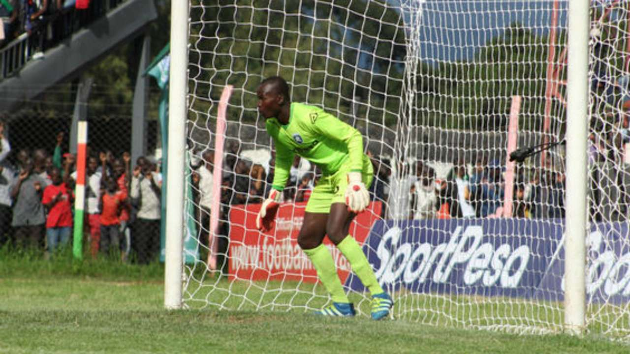 Ezekiel Owade of AFC Leopards.
