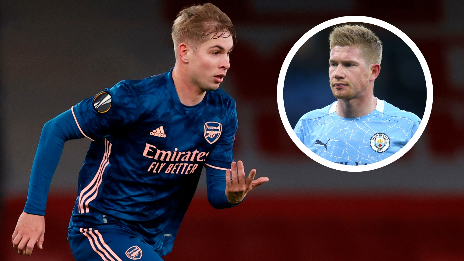 Emile Smith Rowe Arsenal S Croydon De Bruyne Who Can Find Space In A Telephone Box Goal Com