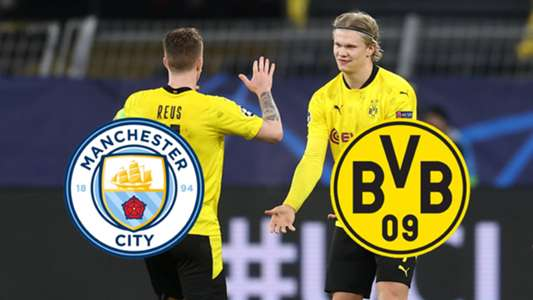 Manchester City arrancó una victoria al Borussia Dortmund ...  |Man City-dortmund