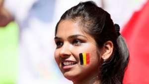 美女サポワールドカップ_ベルギーvsチュニジア_ベルギー1