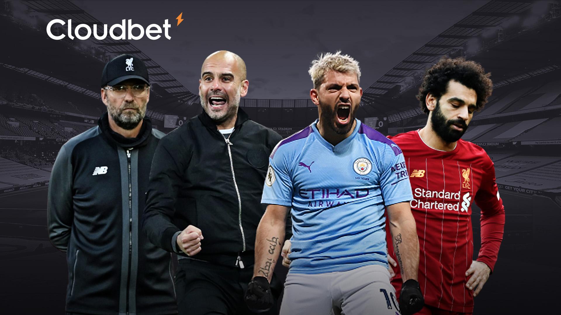 Cloudbet Manchester City Liverpool header