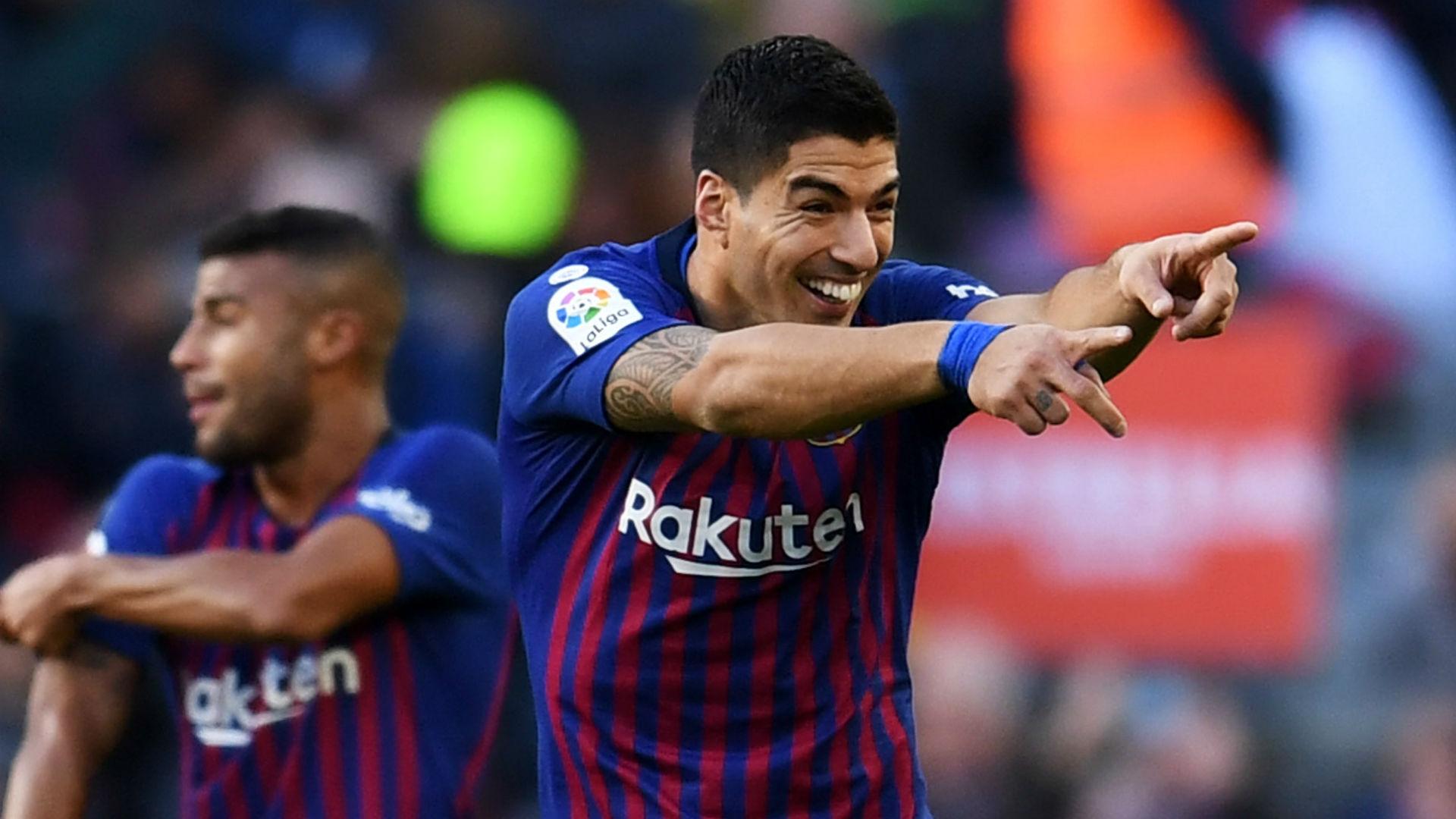 Luis Suarez Barcelona Real Madrid 281018