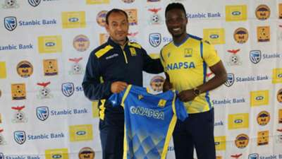 Shaban Odhoji signs for Napsa Stars FC.