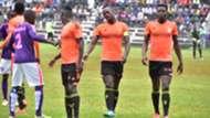 Tooro United players in Uganda.