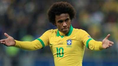 Willian seleção Brasil Paraguai Copa América 28 06 2019