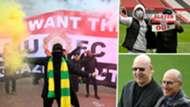 Manchester United Glazer protests GFX