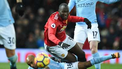 Romelu Lukaku Manchester United Manchester City Premier League