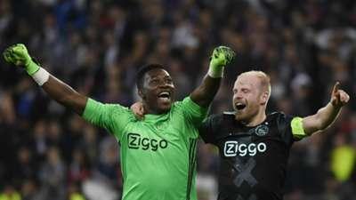 Andre Onana Davy Klaassen Lyon Ajax