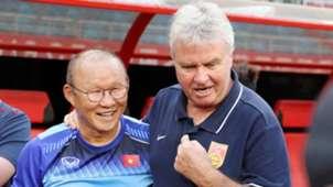 Park Hang Seo Guus Hiddink U22 Vietnam vs U22 China Friendly Match