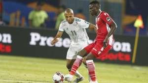 Philemon Otieno of Gor Mahia Kenya and Harambee Stars v Algeria.