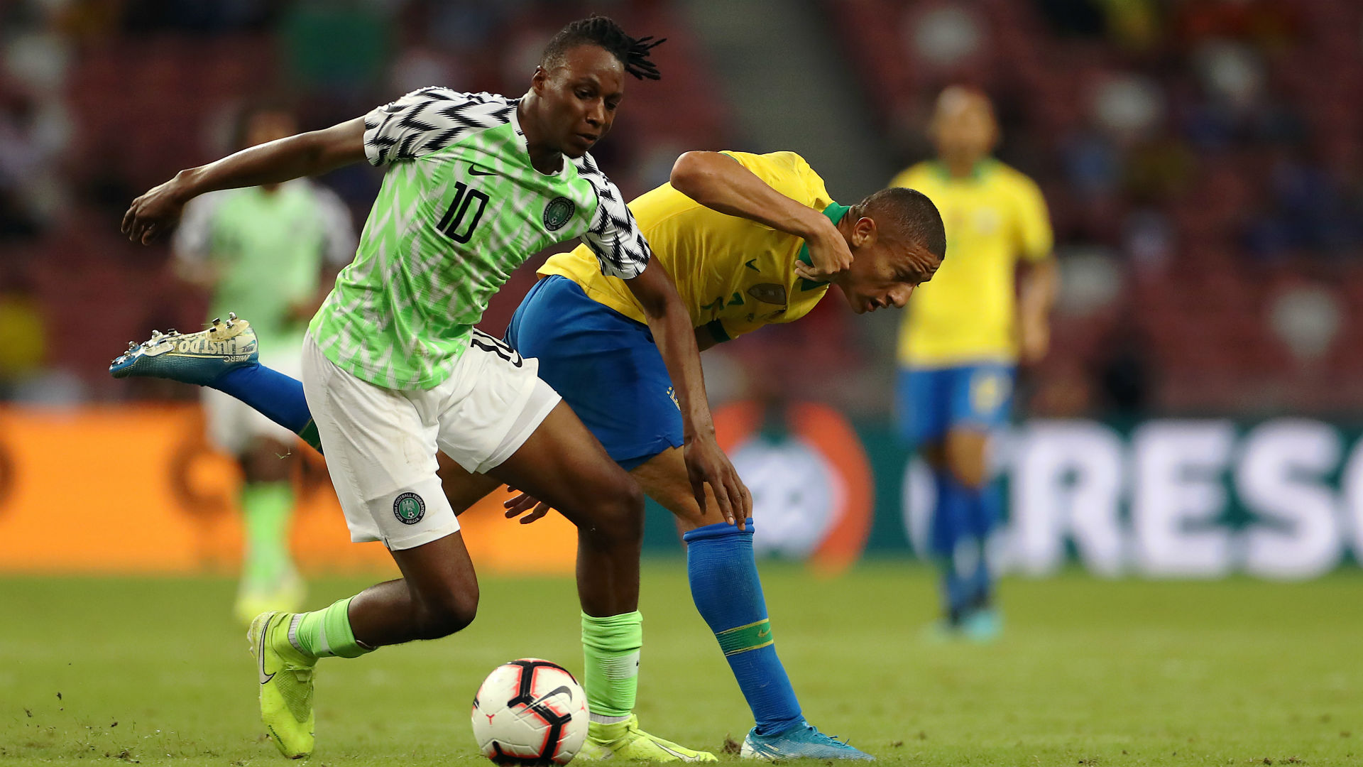 Aribo: I'll never forget my first game with no. 10 shirt for Super Eagles –  BetGPS