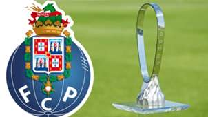 UEFA Youth League trophy, Porto logo