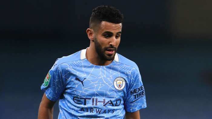 Riyad Mahrez Man City 2020-21