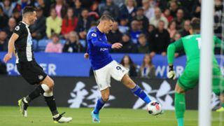 Jamie Vardy Leicester vs Newcastle 2019-20