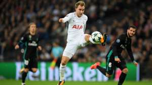 Christian Eriksen Tottenham Real Madrid 31102017