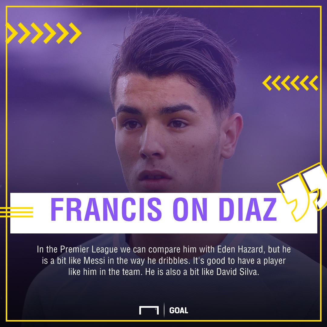 Francis on Diaz