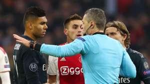 Casemiro Ajax Real Madrid Champions League 130219