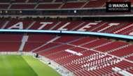 Wanda Metropolitano inside