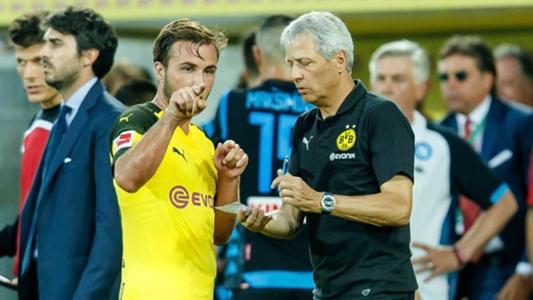 """VIDEO - BVB-Coach Lucien Favre zu Mario Götzes Rolle: """"Seien Sie geduldig"""""""