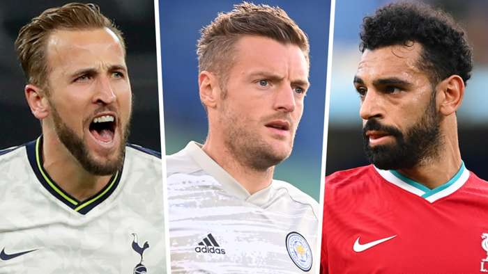 Harry Kane Jamie Vardy Mohamed Salah 2020-21