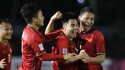 Anh Đức, Đức Huy Philippines vs Việt Nam AFF Suzuki Cup 2018