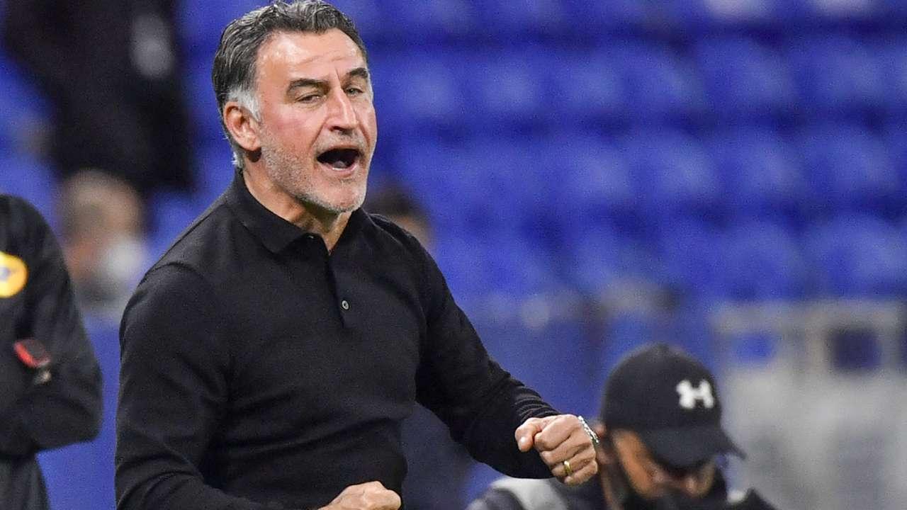 Christophe Galtier Lyon Lille Ligue 1 25042021
