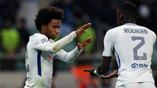 Willian Antonio Rudiger Chelsea