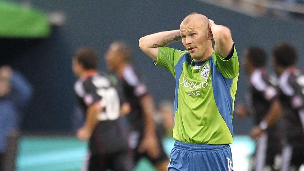 Freddie Ljungberg Seattle Sounders FC MLS
