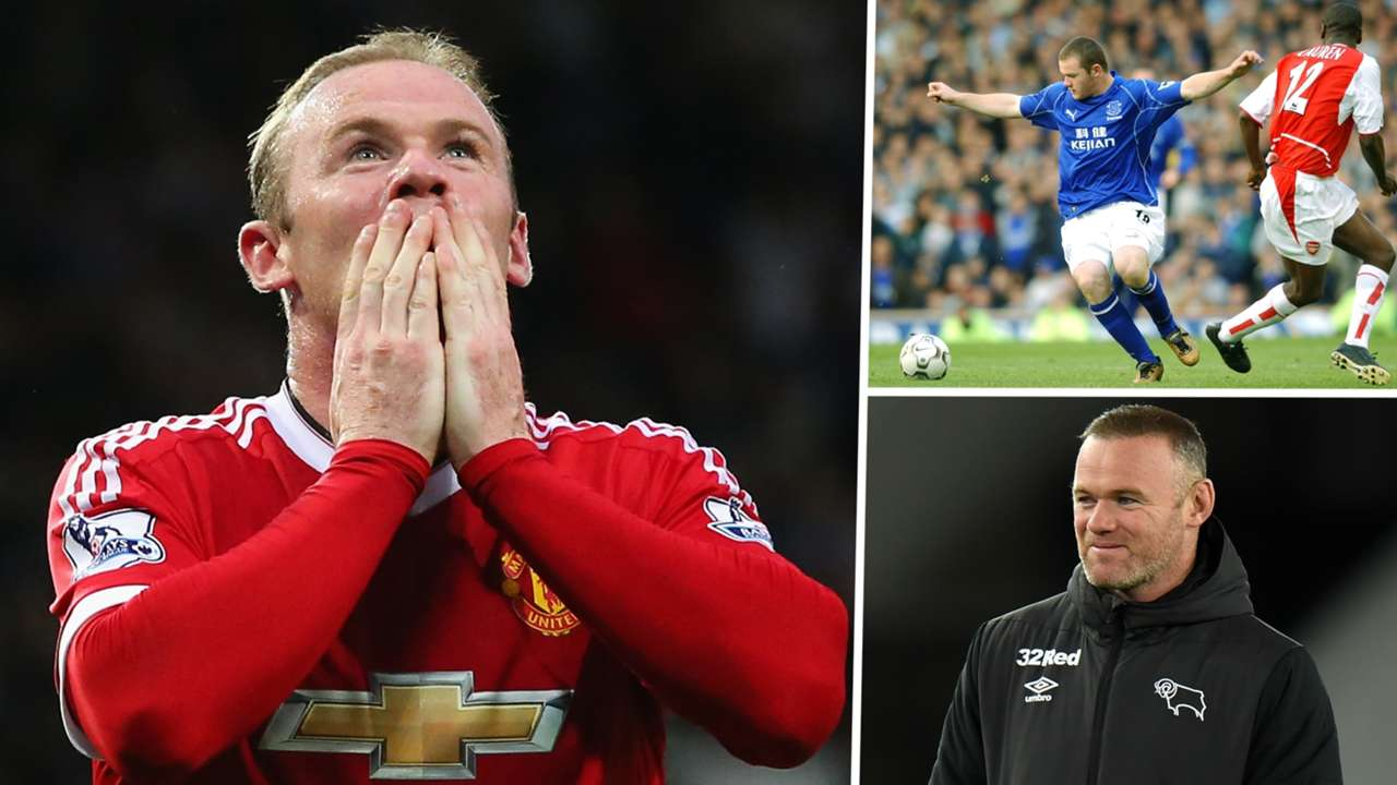 Wayne Rooney Everon Manchester United Derby GFX