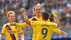 LaLiga: Griezmann, Messi und Suarez schießen Barca zu Sieg in Eibar