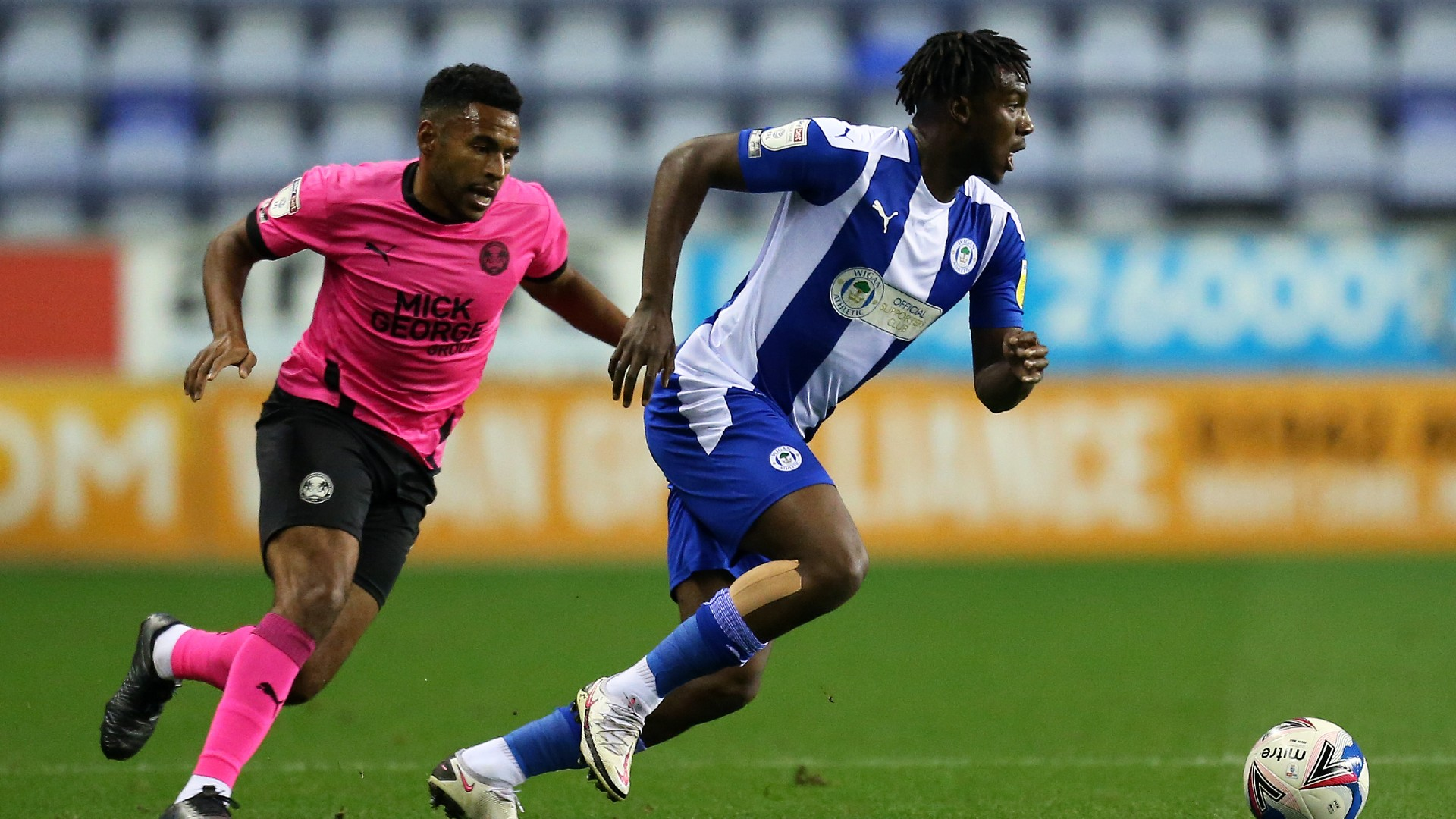 Viv Solomon-Otabor: Wigan Athletic re-sign Anglo-Nigerian winger