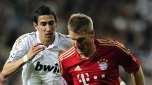 Schweinsteiger Bayern Di Maria Real Madrid