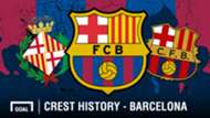 FC Barcelona crest history