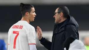 Cristiano Ronaldo/Maurizio Sarri Juventus 2019-20