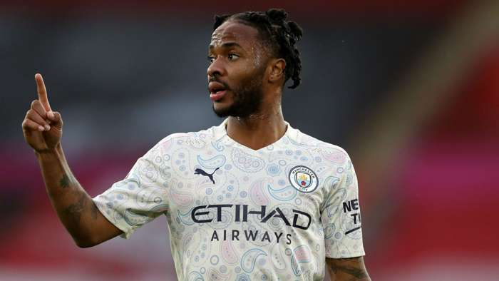 Raheem Sterling Manchestr City 2020-21