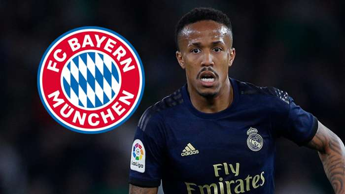 Eder Militao, Real Madrid, Bayern Munich badge