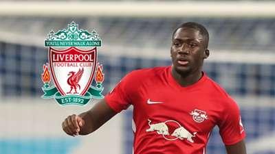 Ibrahima Konate RB Leipzig Liverpool GFX