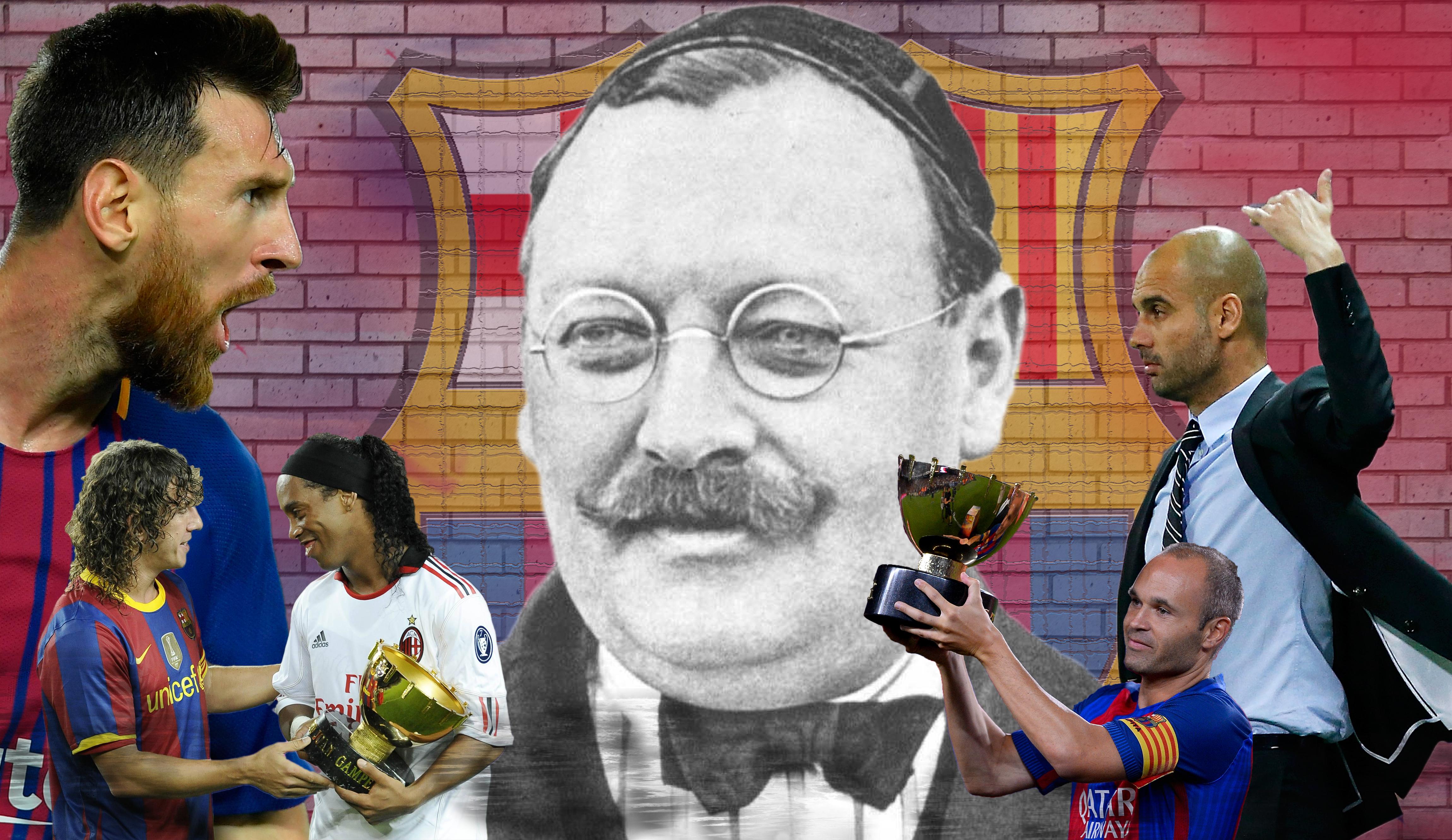 Avant Lyon-Barça, 6 choses à savoir sur Joan Gamper, fondateur du Barça et ancien joueur de Lyon | Goal.com