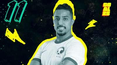 Goal 25 2020 11 Salem Al-Dawsari Al-Hilal Saudi Arabia