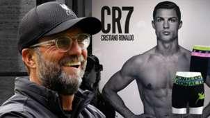 Jurgen Klopp Cristiano Ronaldo