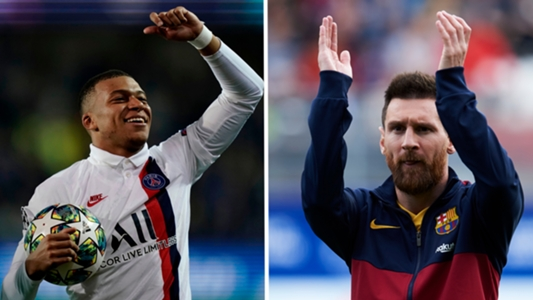 Mbappé breekt record van Messi in de Champions League