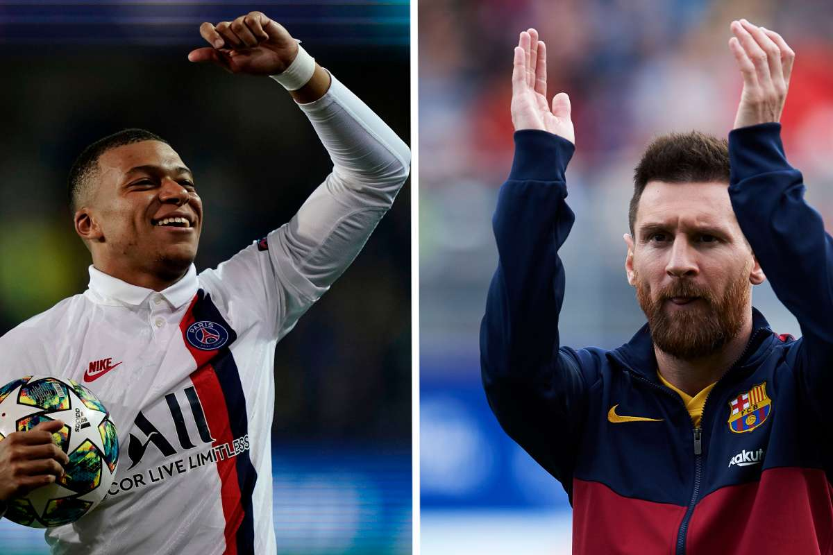 Ligue des Champions : Mbappé pourrait battre un record de Messi ce soir !