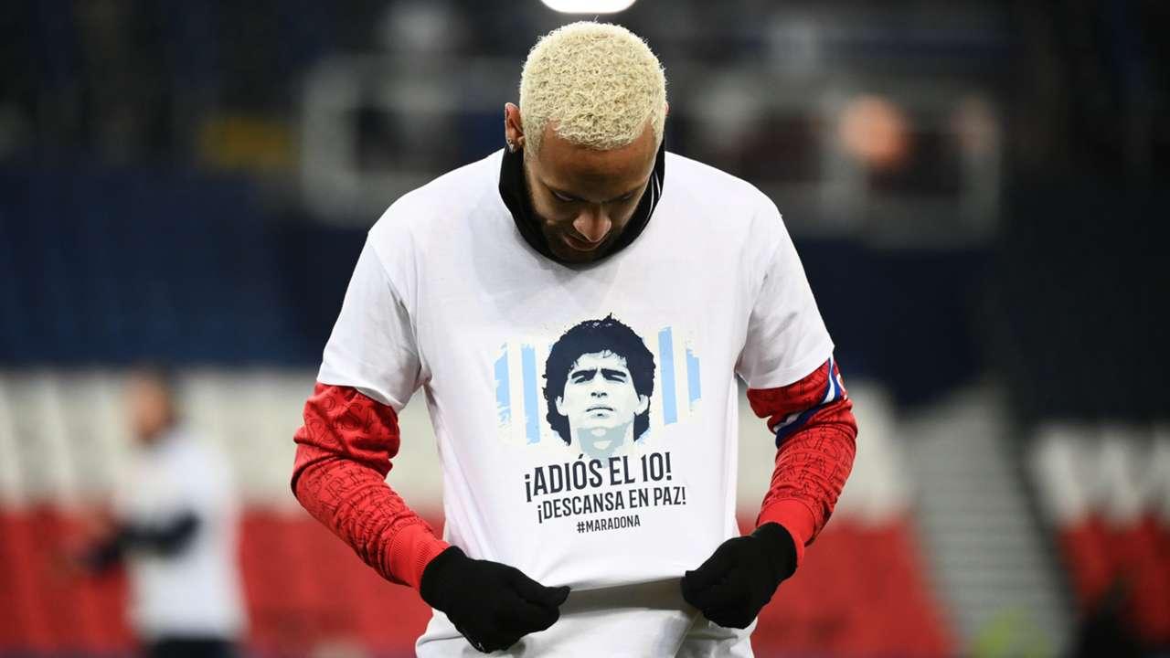 Neymar/Maradona shirt 2020