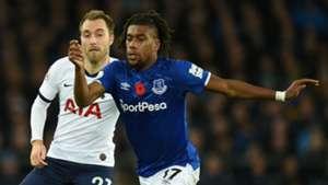 Everton boss Ancelotti sets Iwobi return date from injury