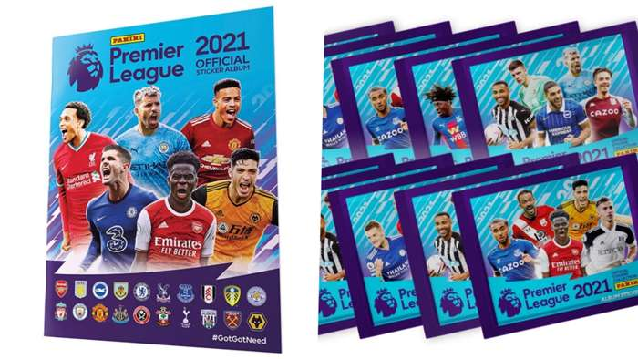 Panini Premier League 2021 sticker book