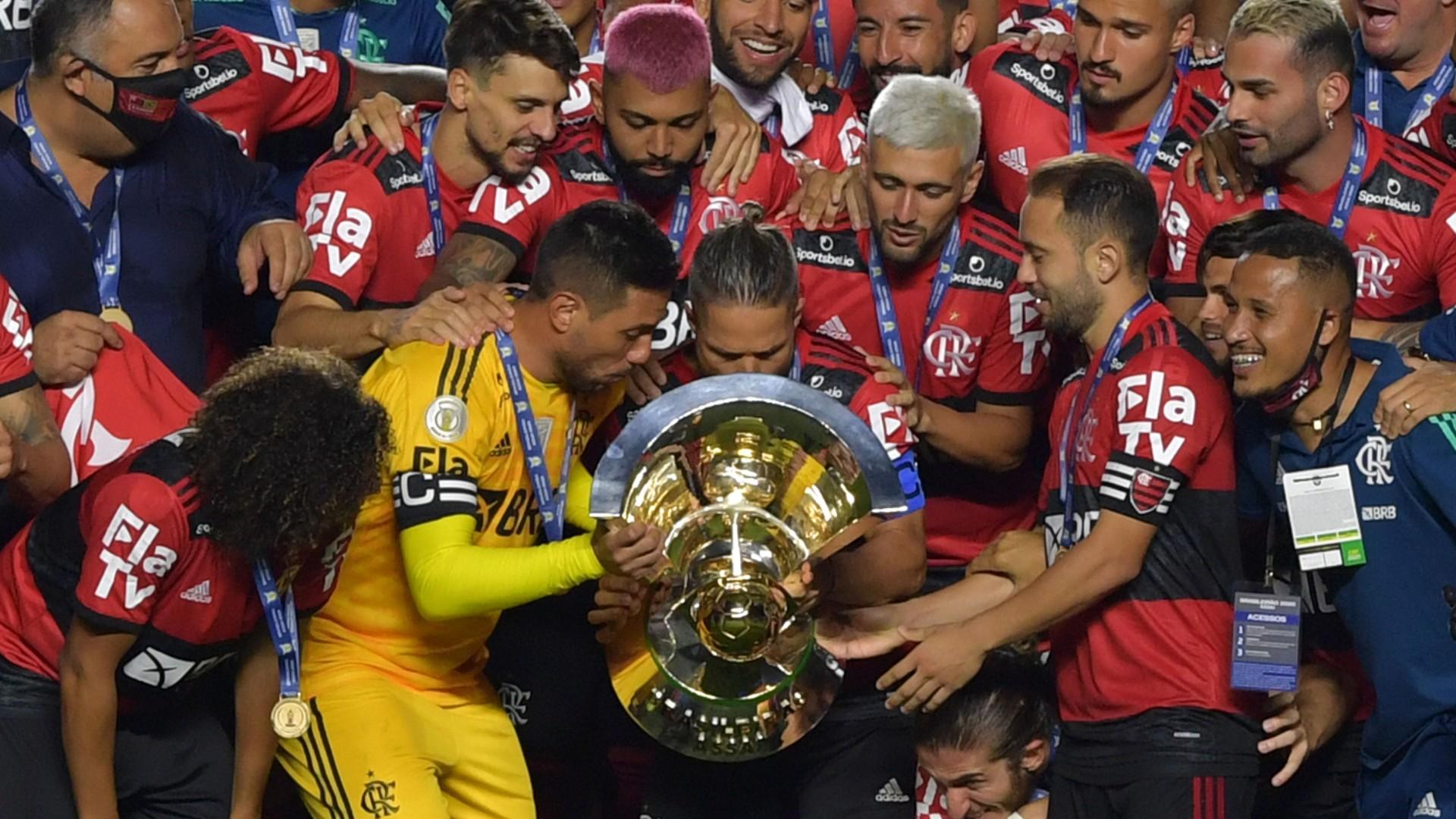 Flamengo termina temporada 2020 com mais títulos oficiais da história   Goal.com