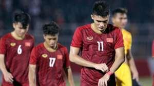 Vo Nguyen Hoang U18 Vietnam vs U18 Thailand AFF U19 Youth Championship 2019