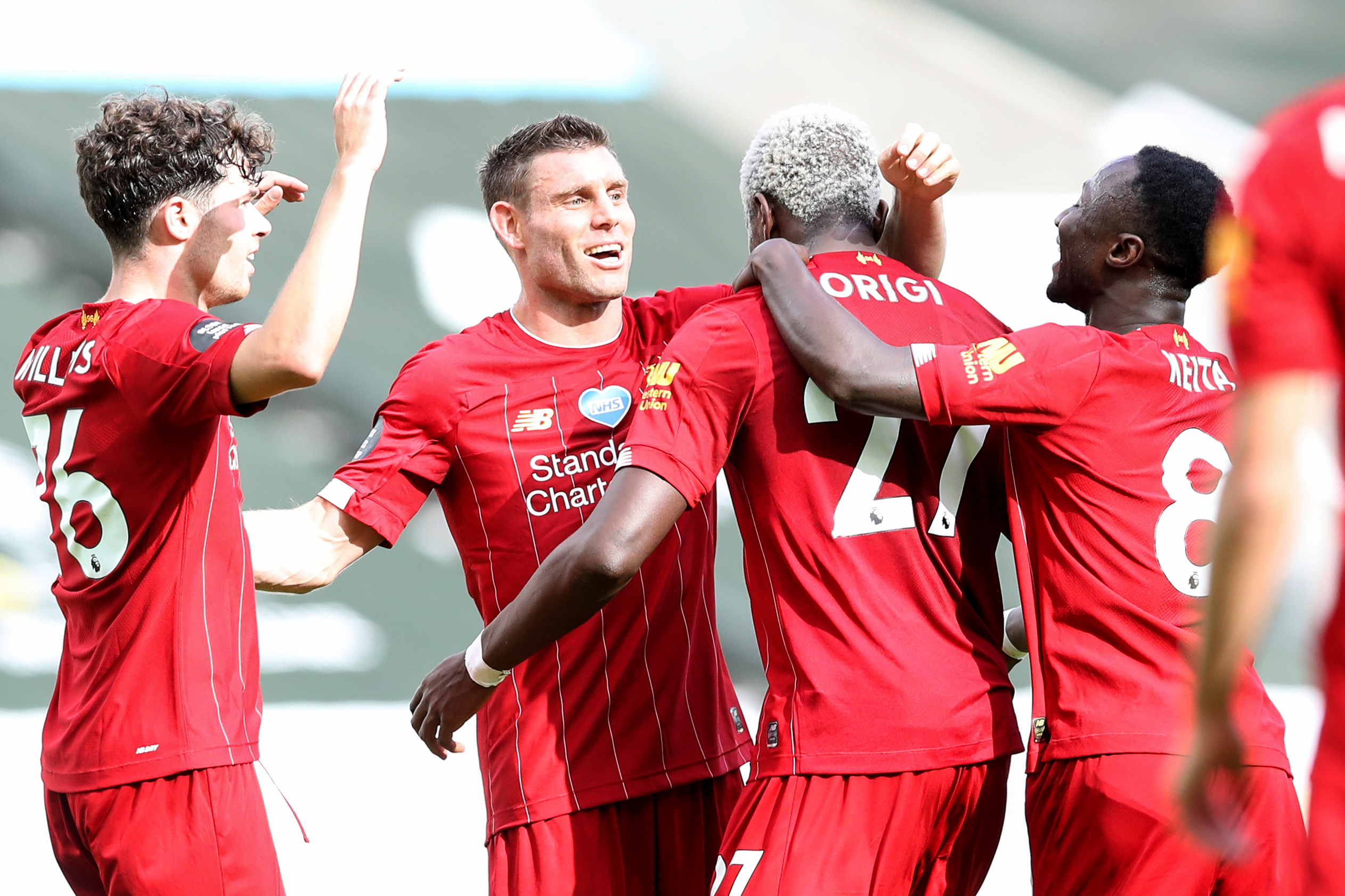 Liverpool equal Premier League win record with victory at ...