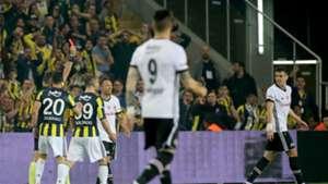 Pepe Besiktas Fenerbahce red card 04192018