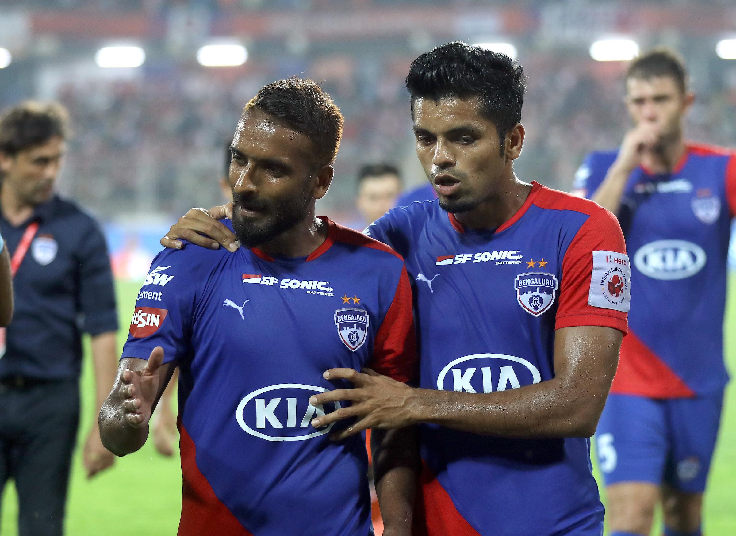 Harmanjot Khabra Rahul Bheke Bengaluru FC